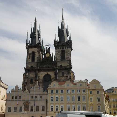 Прага, костёл Богородицы за тыном