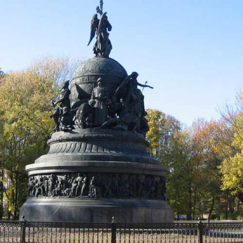 Новгород Великий. Памятник Тысячелетию России.