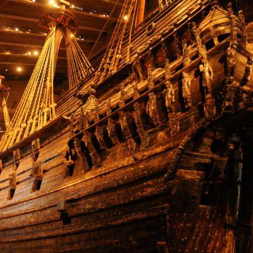 Стокгольм. Музей корабля Ваза