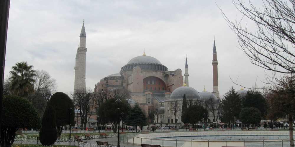 Стамбул. Святая София