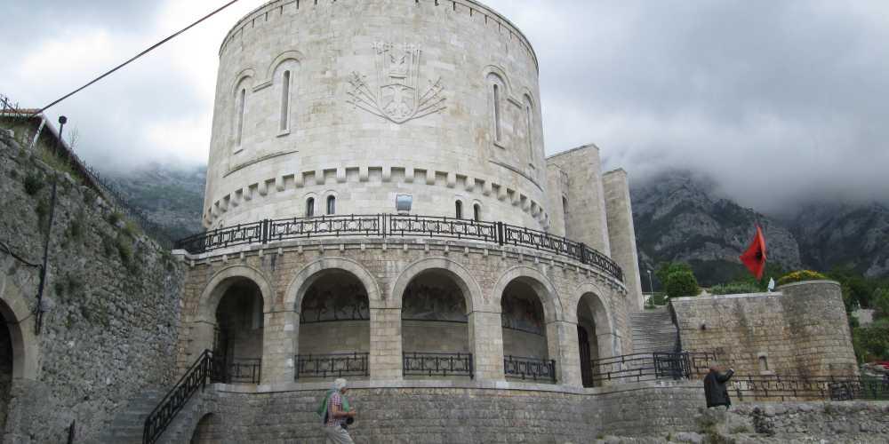 Круя. Замок Георга Кастриоти Сканденберга
