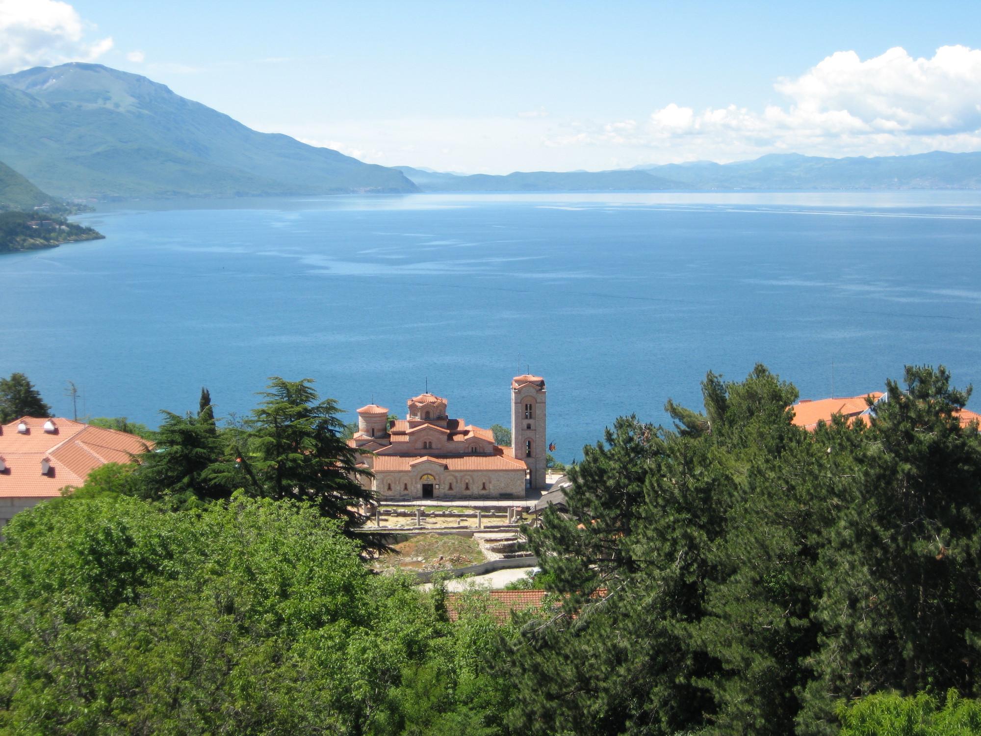 фото озера охрид в македонии задача эмиттировать электроны