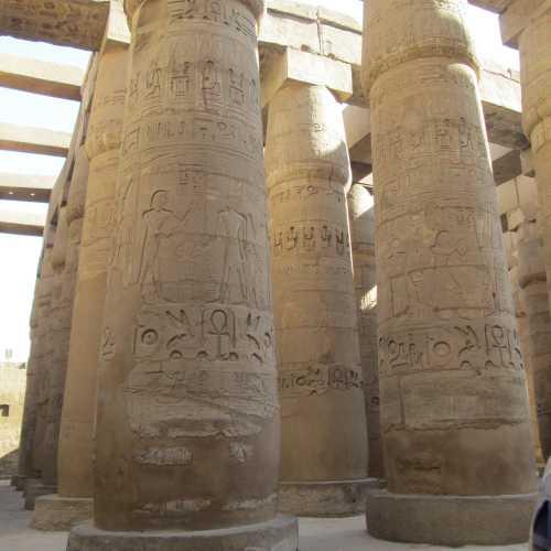 Храмовый комплекс в Луксоре, Egypt