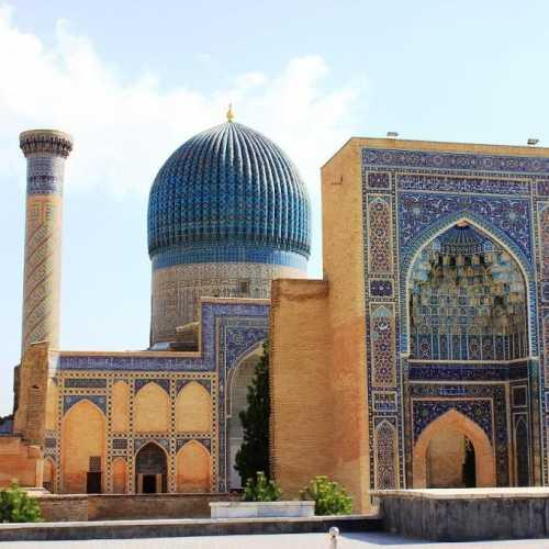 Мавзолей Гур Эмир в Самарканде, Uzbekistan
