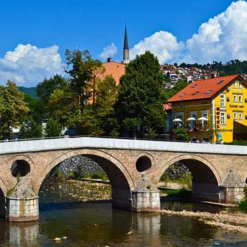 Латинский мост в  Сараево, Bosnia and Herzegovina