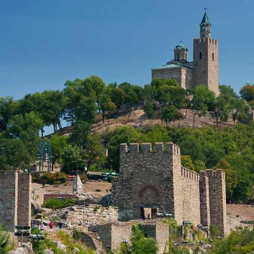 Крепость Царевец в Велико Тырново, Bulgaria