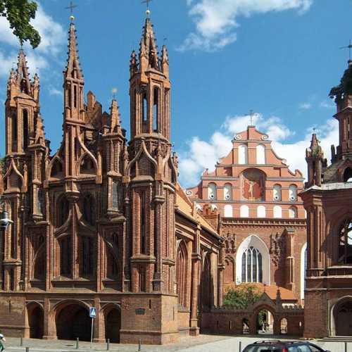 Костёл святой Анны в Вильнюсе, Lithuania