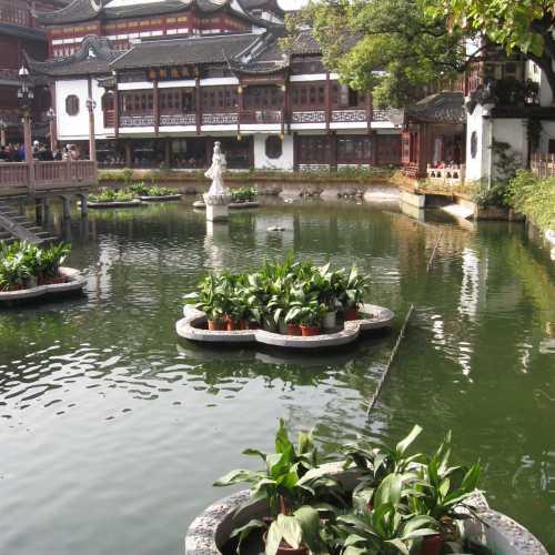 Сад Радости в Шанхае или парк Юй Юань, China