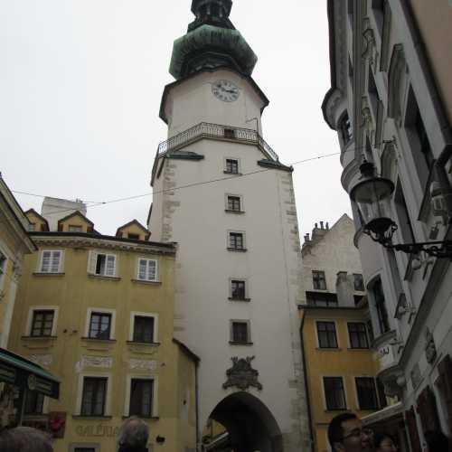 Михайловская башня в Братиславе, Slovakia