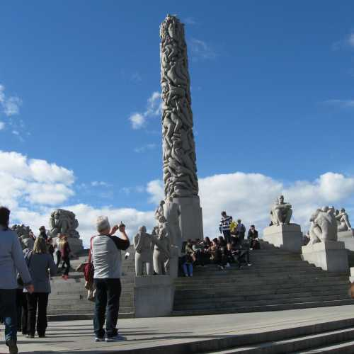 Парк скульптур Густава Вигеланда, Norway