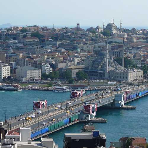 Галатский мост, Турция