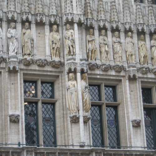 Брюссель, фрагмент декора ратуши