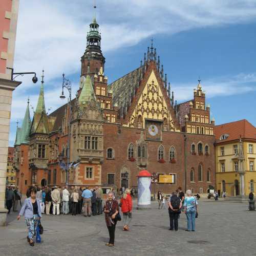 Городская ратуша Вроцлава, Польша