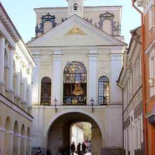 Остра Брама в Вильнюсе