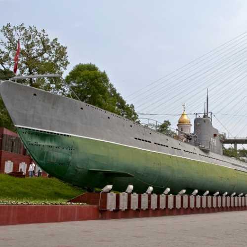 Подводная лодка-музей С-56 во Владивостоке, Russia