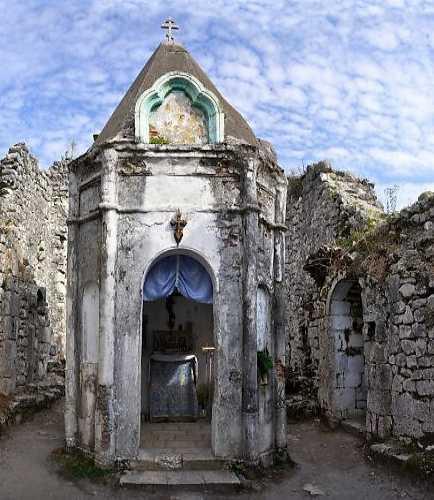 Анакопийская крепость на Иверской горе, Абхазия