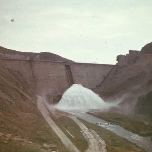 Chardara Dam, Kazakhstan