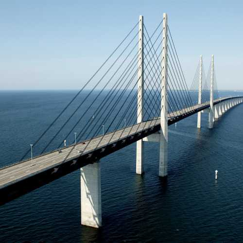 Eresund bridge, Denmark