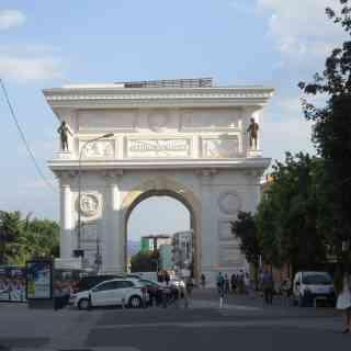 Триумфальная арка: Ворота Македонии