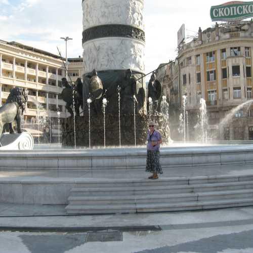Площадь Македонии в Скопье, Macedonia