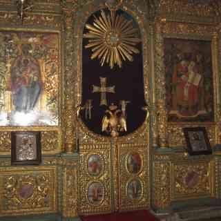 Иконостас патриаршего собора Георгия Победоносца в Стамбуле