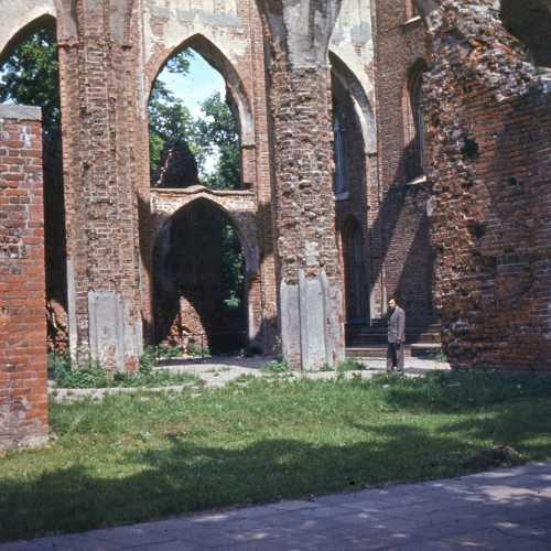 Развалины Домского собора Петра и Павла, Estonia