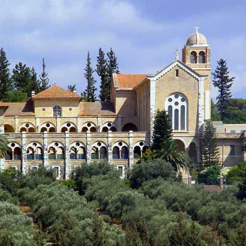 Бенедиктинский мужской монастырь молчальников в Латруне, Israel