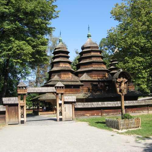 Львов МНА церковь Св. Николая из села Кривки
