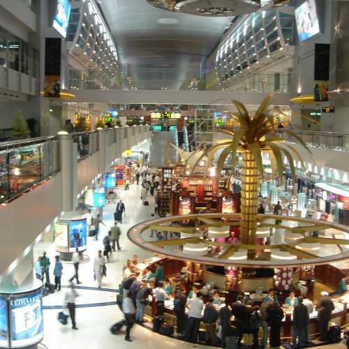 Международный аэропорт Dybai International, United Arab Emirates