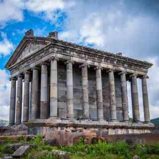 Гарни. Единственный греческий храм солнца, сохренившийся в Армении