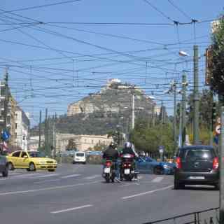 Гора Ликавитос -самая высокая точка в Афинах
