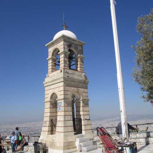 Колокольня храма Георгия Победоносца.