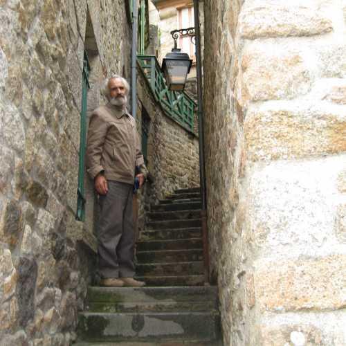 В монастыре Сан-Мишель «улицы»
