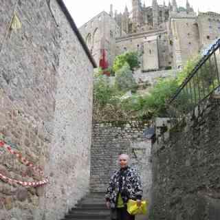 В монастыре Сан-Мишель «проспекты»