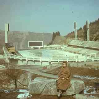 Алма-Ата. Стадион Медео