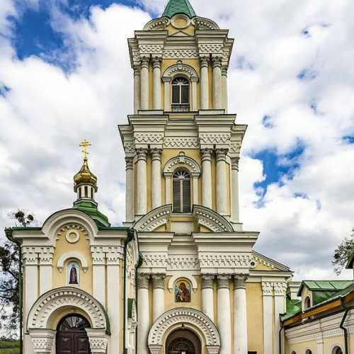Колокольня Богоявленского Кременецкого монастыря