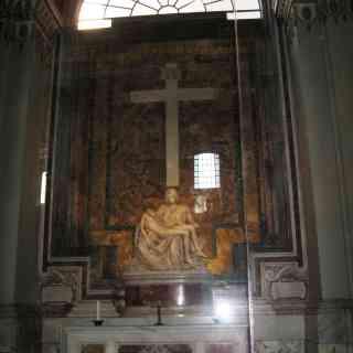 Пьета Микелеанджело в Соборе Святого Петра
