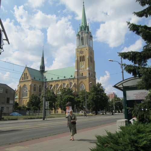 Кафедральный собор Св Станислава Костки в Лодзи, Польша
