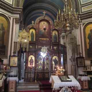 Лодзь. Иконостас собора Александра Невского