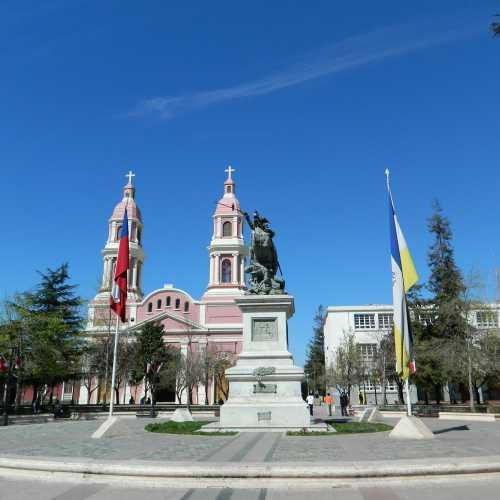 Кафедральный католический Собор Эль-Саграрио в Ранкагуа, Chile
