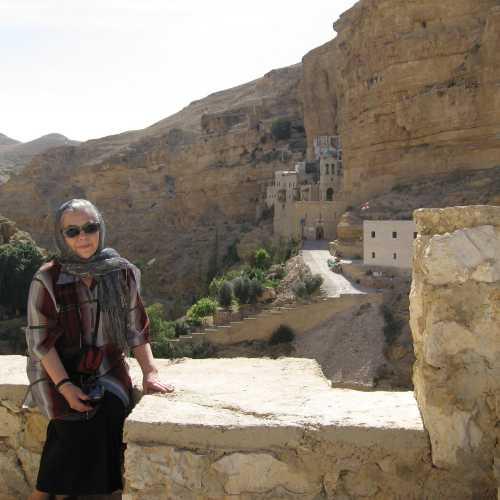 Монастыри Иудейской пустыни: 1. Георгия Хозевита в ущелье Вади Кельт, Israel