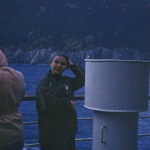Рассвет на Курилах. Скоро остров Атласова и вулкан Алаид