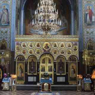Владимир Волынский. Иконостас Успенского собора