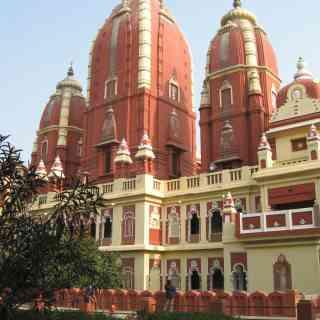 Дели.Индуистский храм Лакшми Нараян