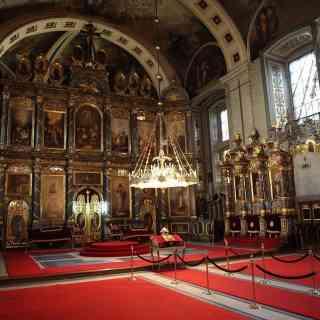 Белград. Иконостас патриаршего собора Архангела Михаила