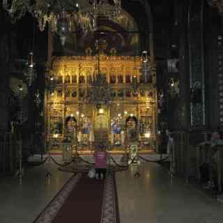 Бухарест. Иконостас Патриаршего собора Свв. Константина и Елены
