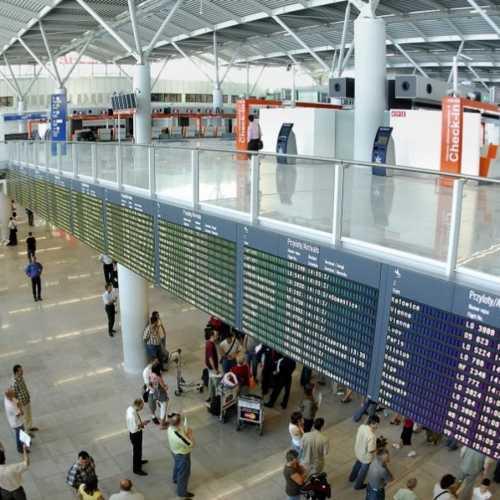 Международный аэропорт имени Ф. Шопена - Окенце, Poland