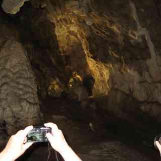 Пещера Врело, ещё немного видно