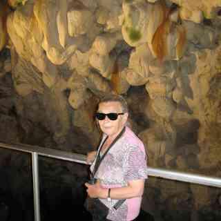 пещера Врело, в освещённом месте
