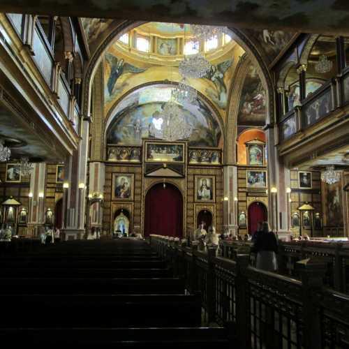 Шарм-эль-Шейх. Интерьер коптского храма